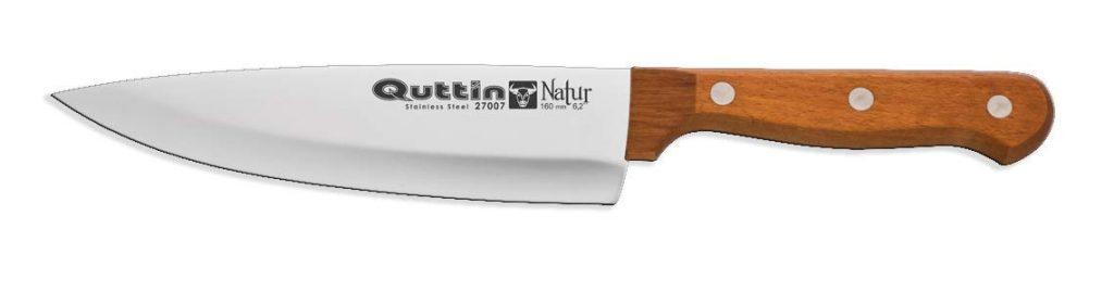 cuchillo con mango ecologico